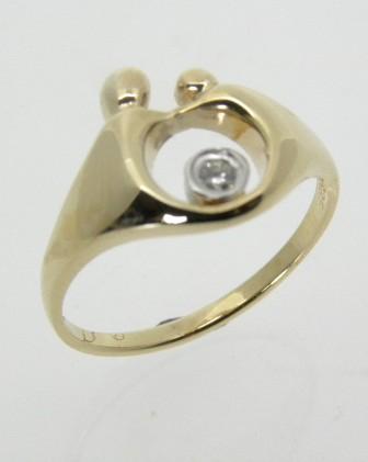 moeder-kind ring